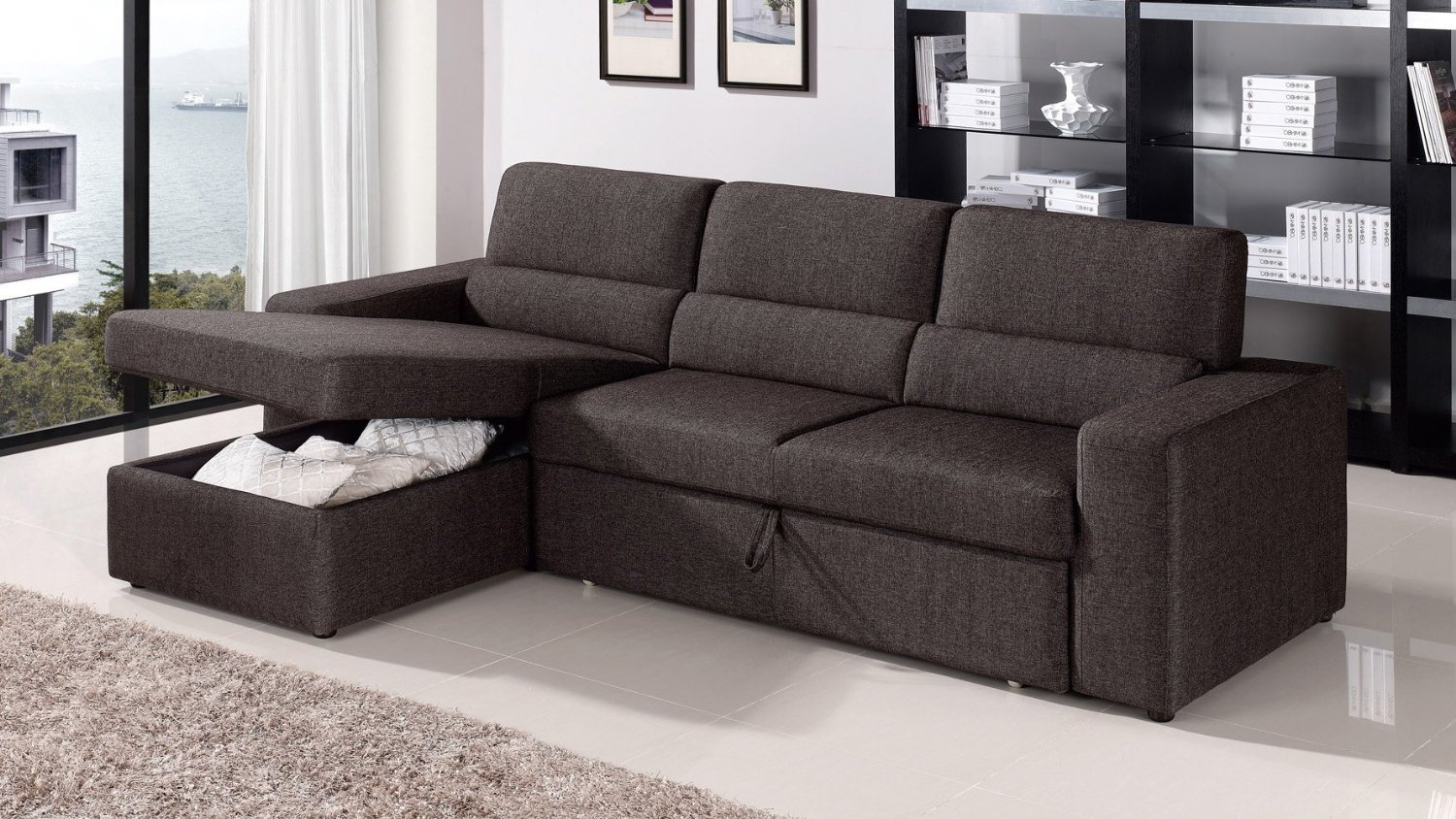 Popular Big Sofas Sectionals 42 On Microfiber Sectional Sofas With Within Big Sofas Sectionals (#7 of 12)