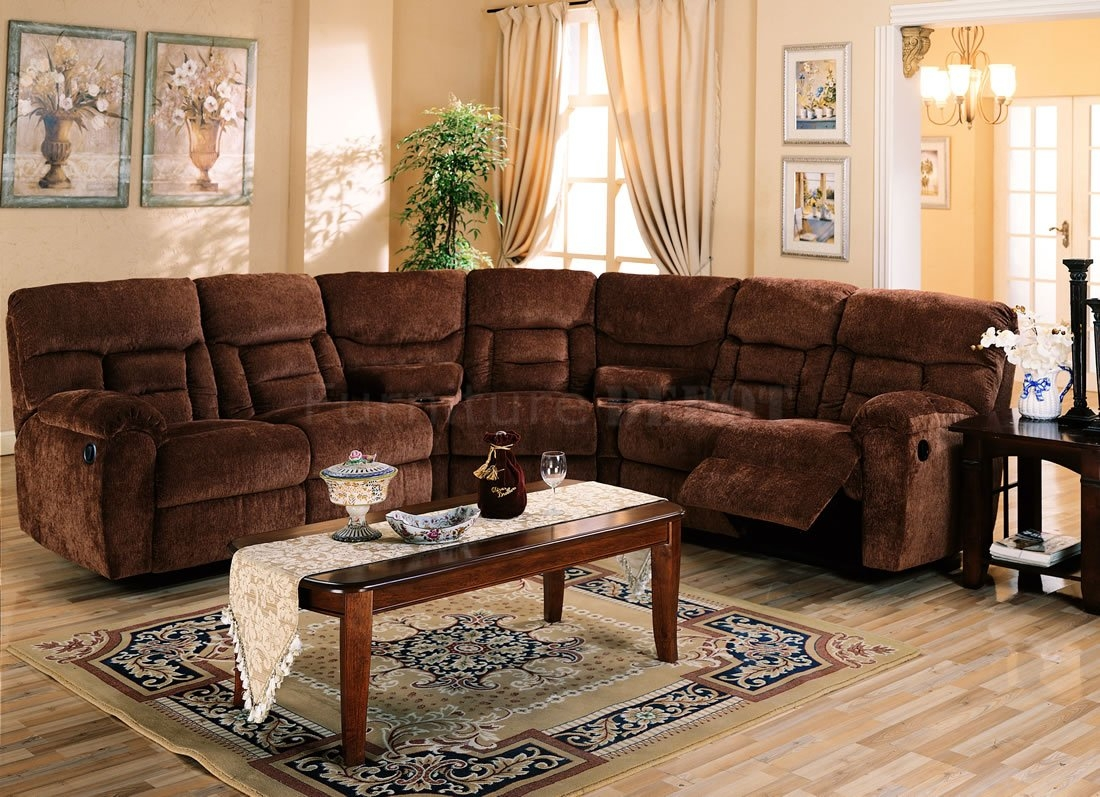 Popular Reclining Sectional Sofa With Sleeper 68 On Albany Within Albany Industries Sectional Sofa (#