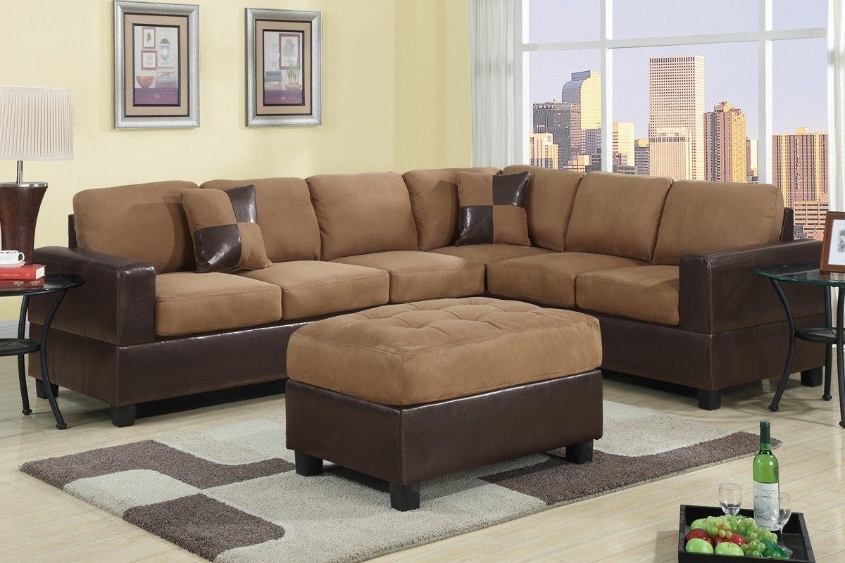 Remarkable Cheap Sofas And Sectionals 13 About Remodel Abson With Abbyson  Living Charlotte Dark Brown Sectional Part 95