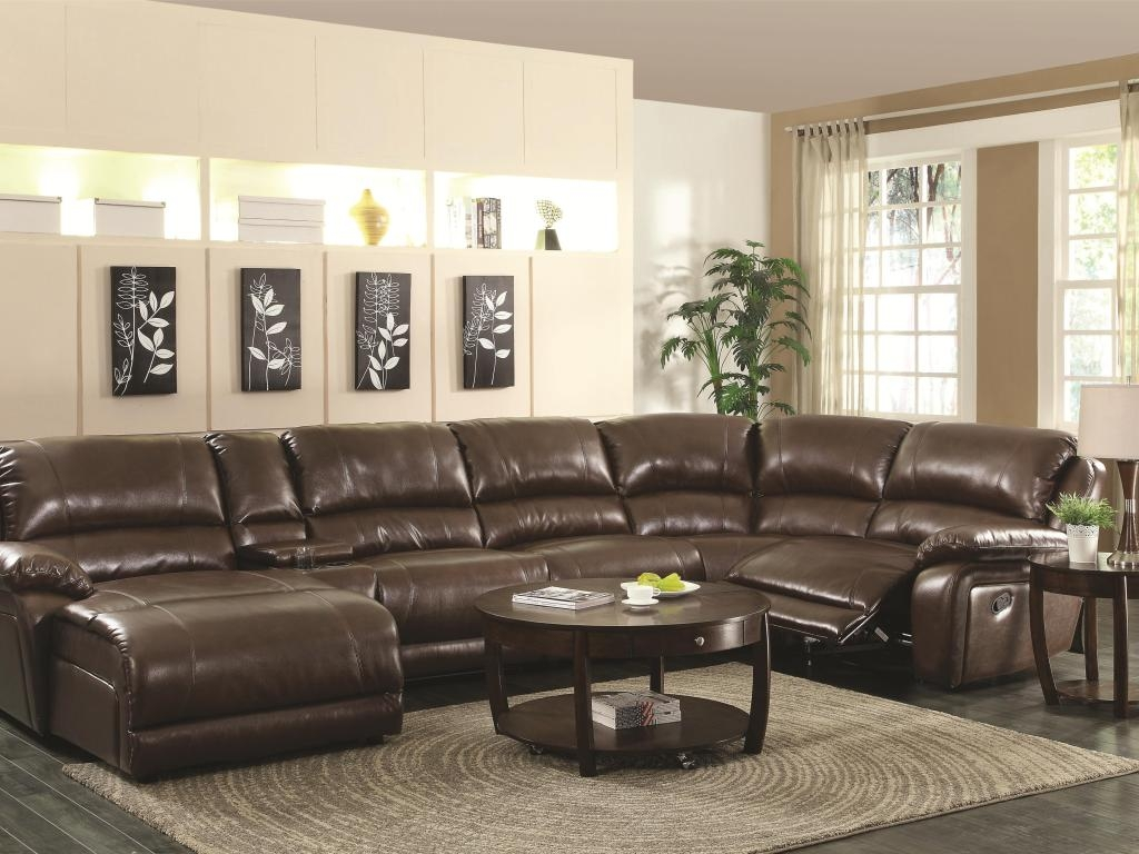 Renowned Couch With Recliner And Chaise Tags 6 Piece Sectional Pertaining To 6 Piece Leather Sectional Sofa (#9 of 12)
