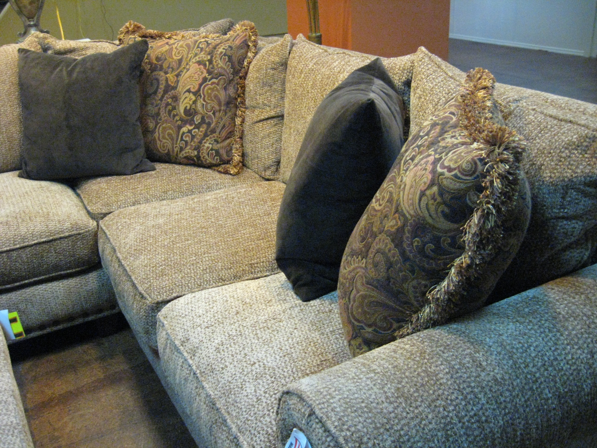 Robert Michael Sectional Sofa Phoenix Arizona Discount Outlet Regarding Down Filled Sectional Sofas (#9 of 12)