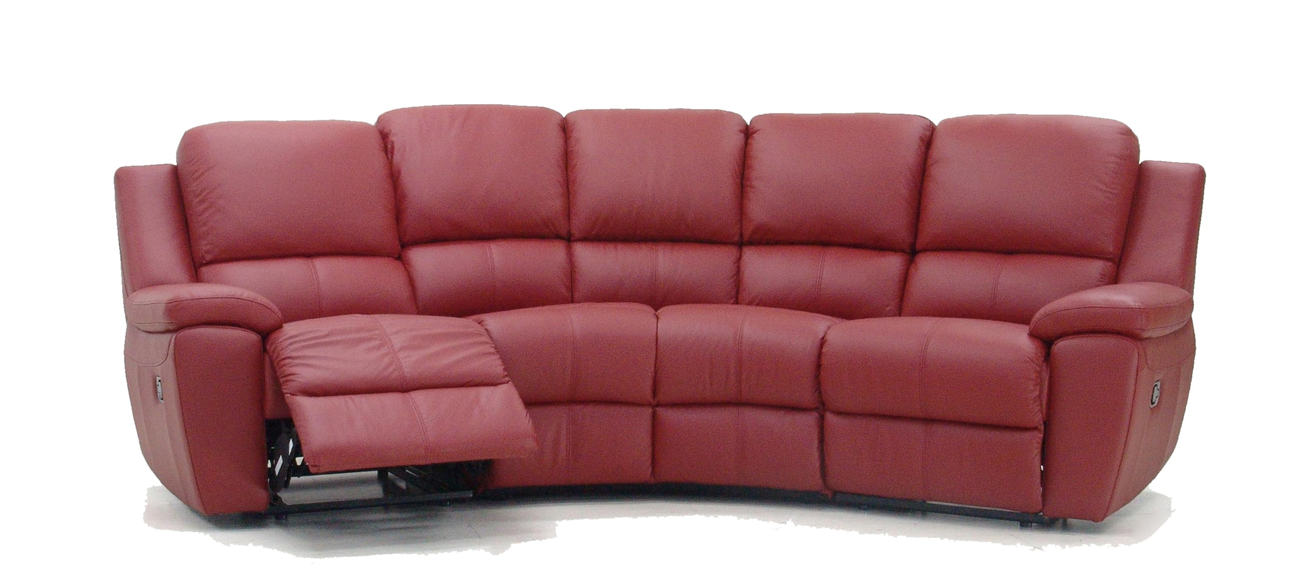 Rome Curved Corner Recliner Sofa In Curved Recliner Sofa (#7 of 12)