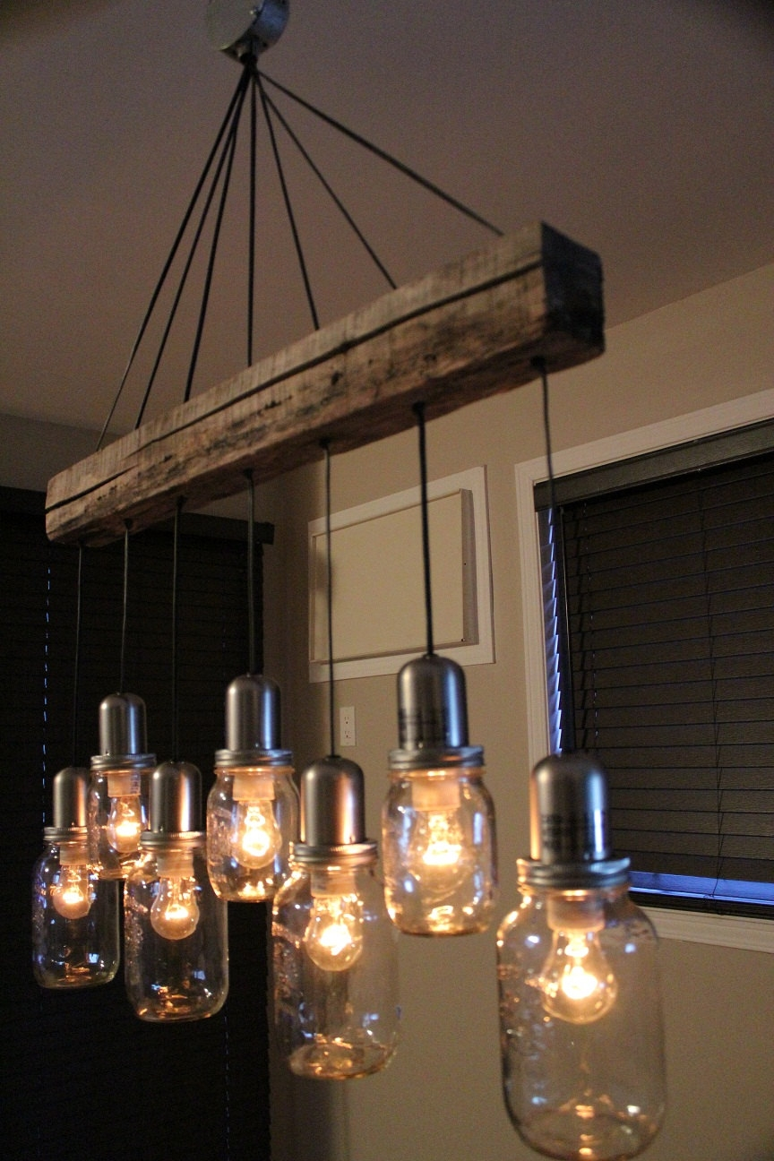 Rustic Farmhouse Kitchen Pendant Lighting Throughout Vintage Style Chandeliers (#9 of 12)