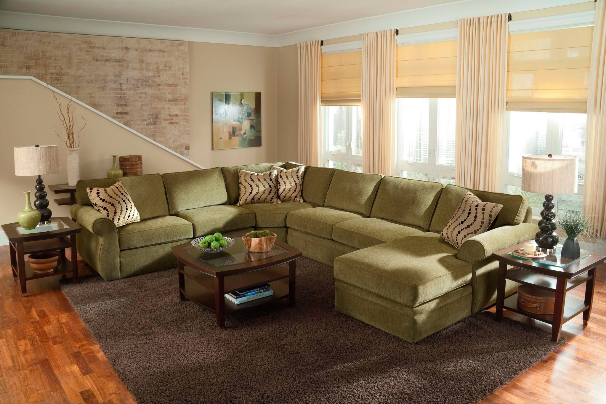 Sectional Sectional Sofas Leather Sectionals Pertaining To Extra Large Sectional Sofas (#11 of 12)
