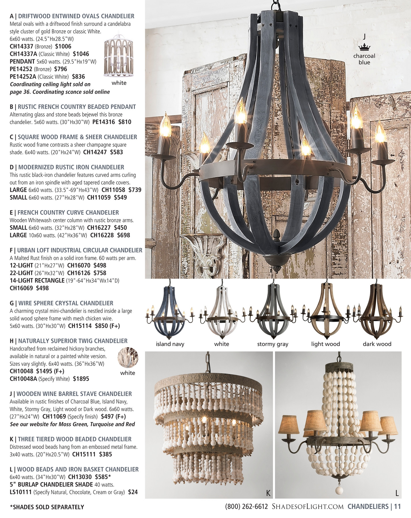 Shades Of Light Farmhouse Classics 2017 Page 10 11 Inside Large Cream Chandelier (#10 of 12)