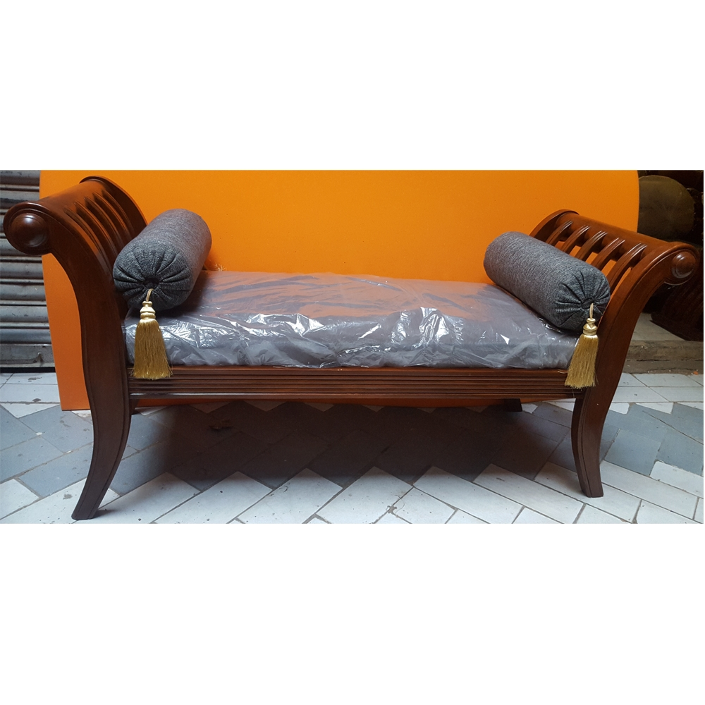 Popular Photo of Backless Chaise Sofa