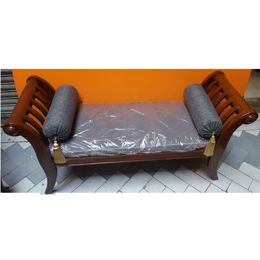 12 collection of backless chaise sofa