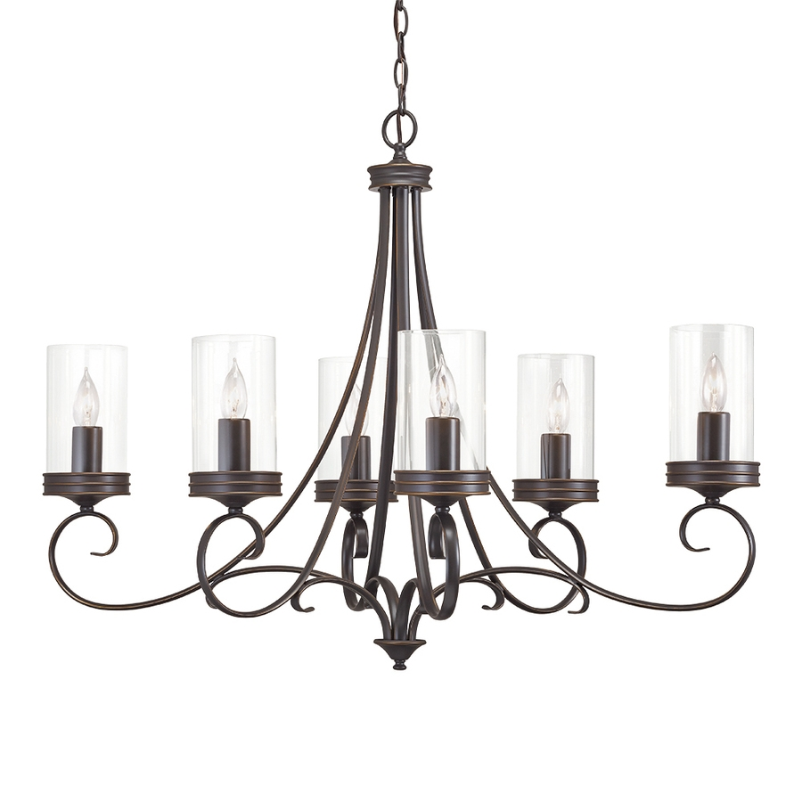 Shop Chandeliers At Lowes Throughout Candle Light Chandelier (#12 of 12)