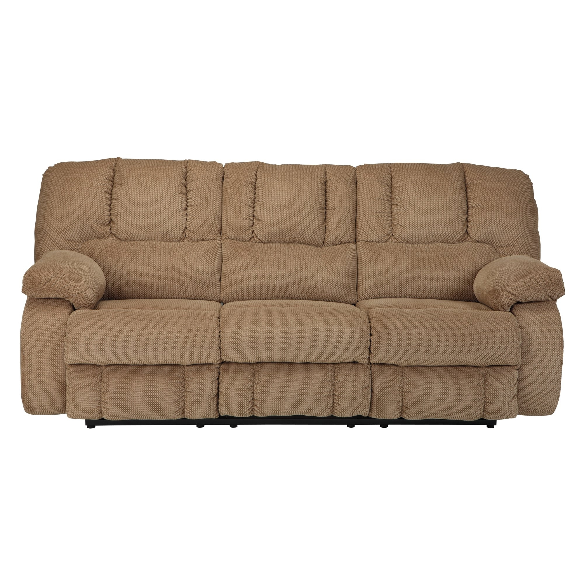 Signature Design Ashley Roan Reclining Sofa Reviews Wayfair Throughout Ashley Tufted Sofa (#9 of 12)