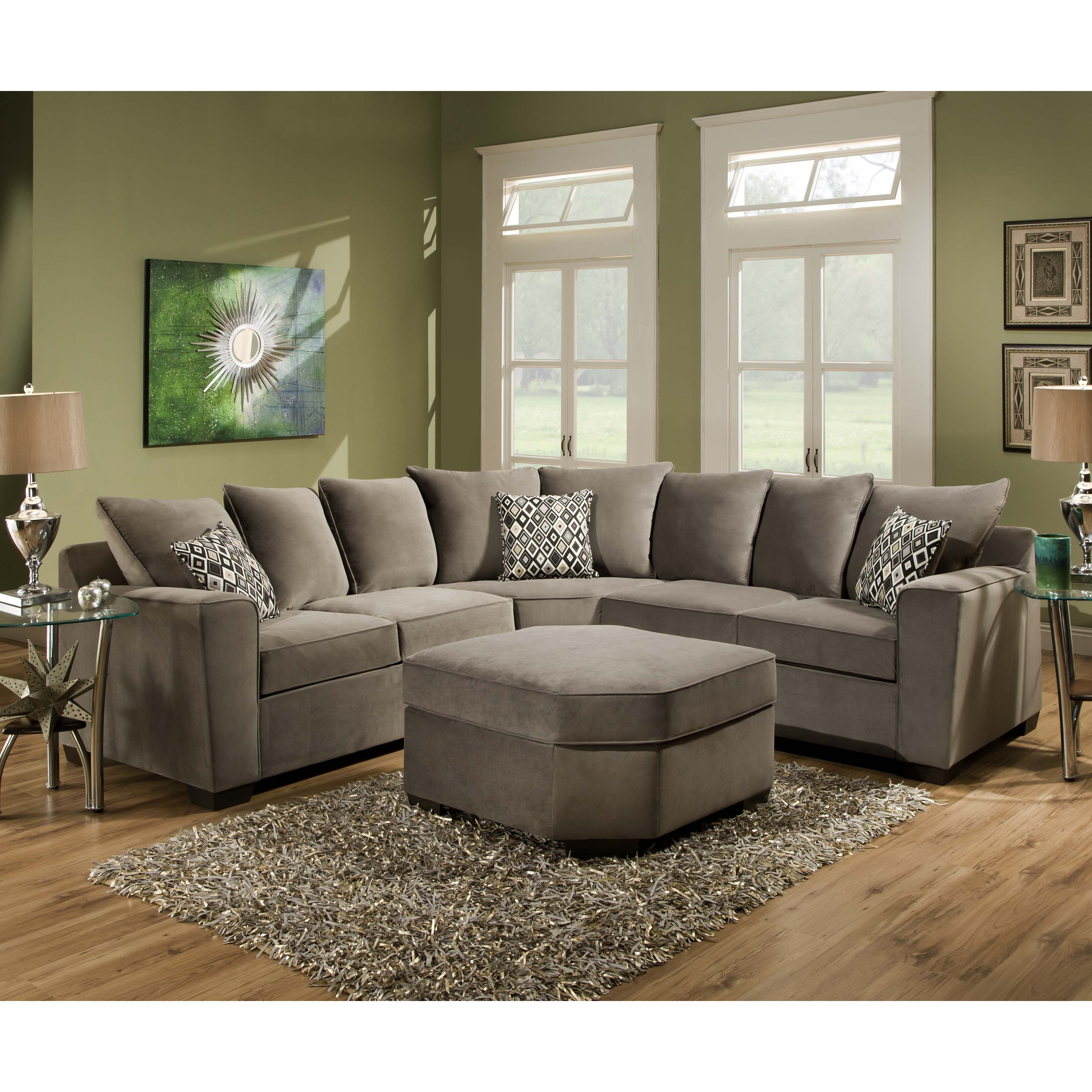 Simple American Made Sectional Sofas 65 With Additional Compact Regarding Compact Sectional Sofas (#10 of 12)