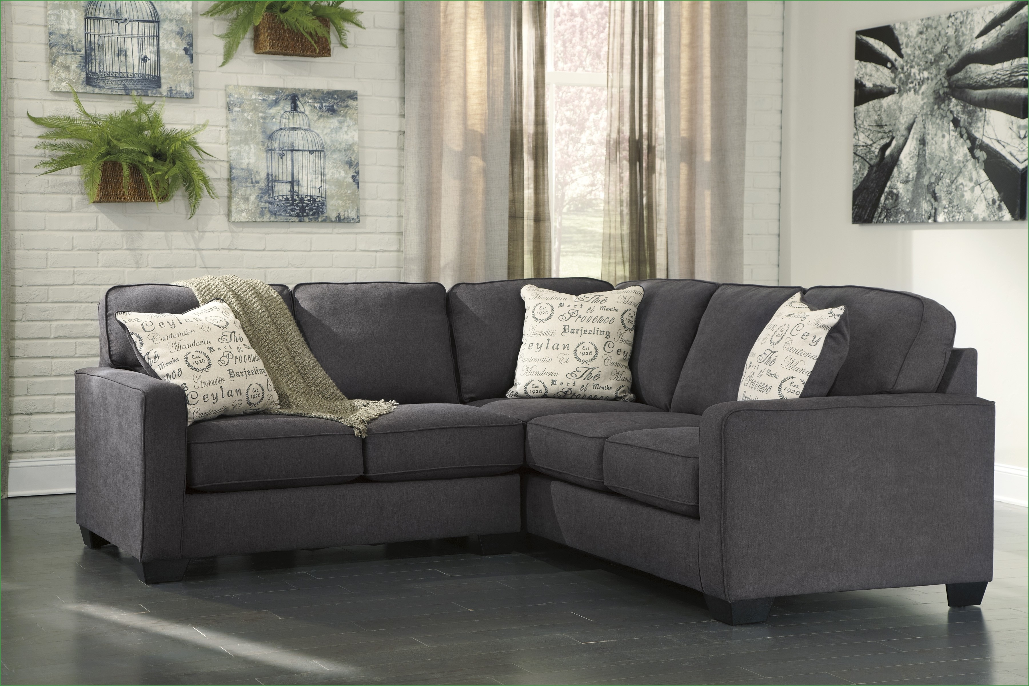 Simple Small 2 Piece Sectional Sofa 58 For Your American Made With Regard To American Made Sectional Sofas (#12 of 12)