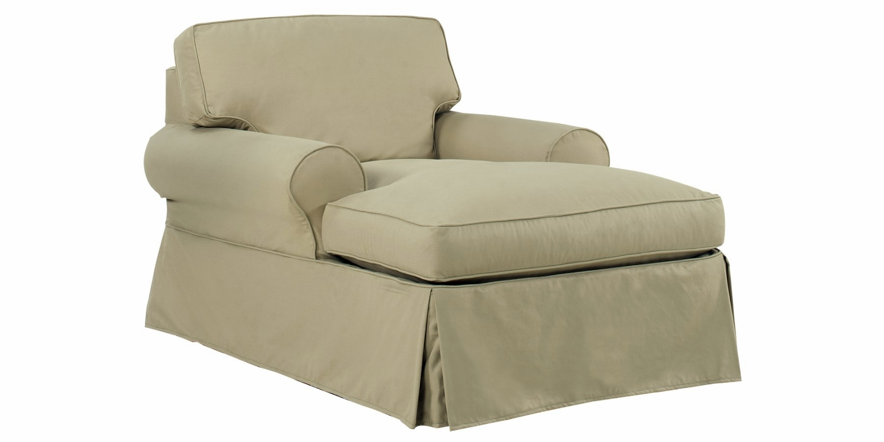 Sofa With Chaise Lounge Slipcover Hereo Sofa In Chaise Sofa Covers (#11 of 12)