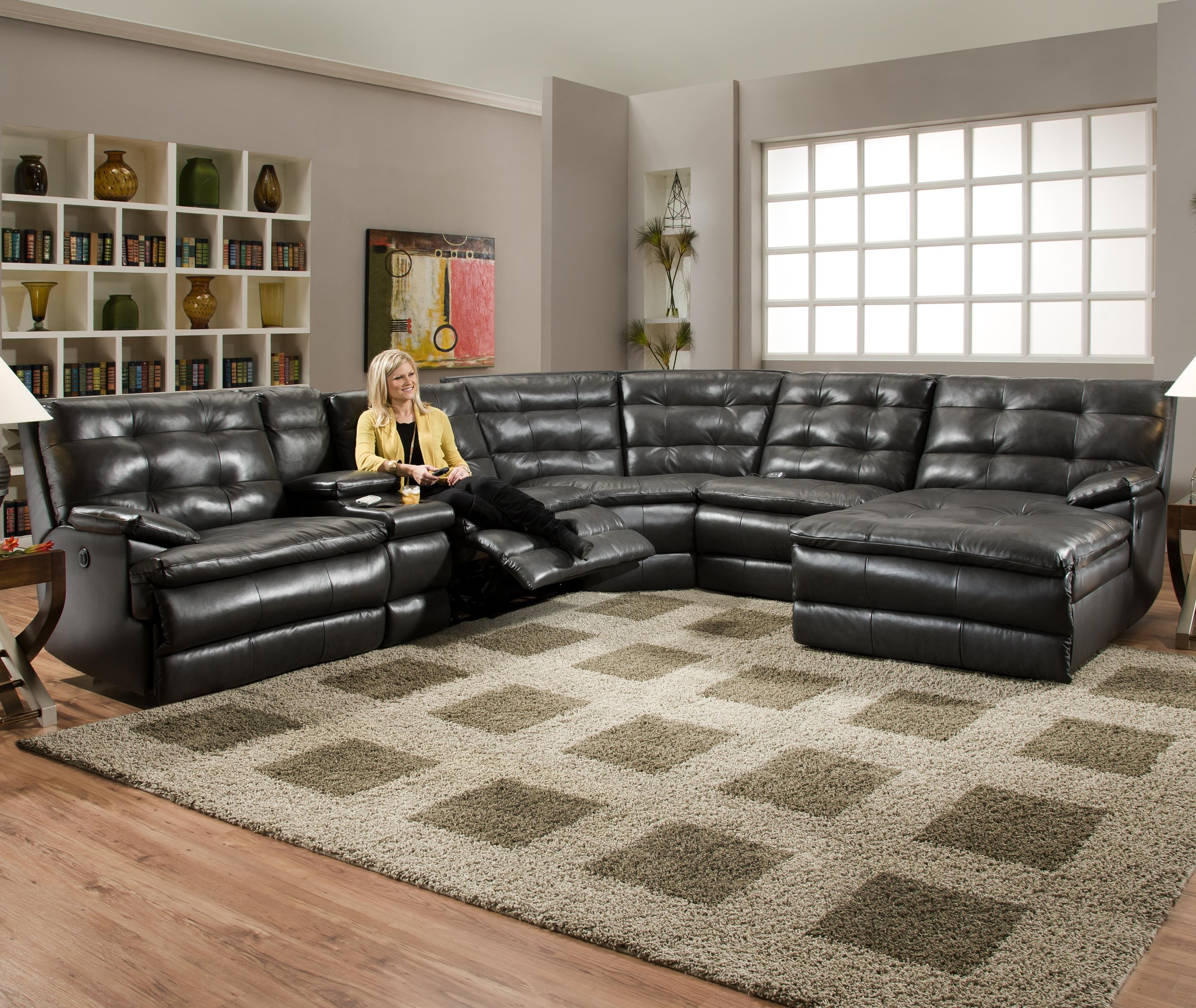 Sofas And Sectionals Sofas And Sectionals Couch With Recliners Throughout Big Sofas Sectionals (#10 of 12)