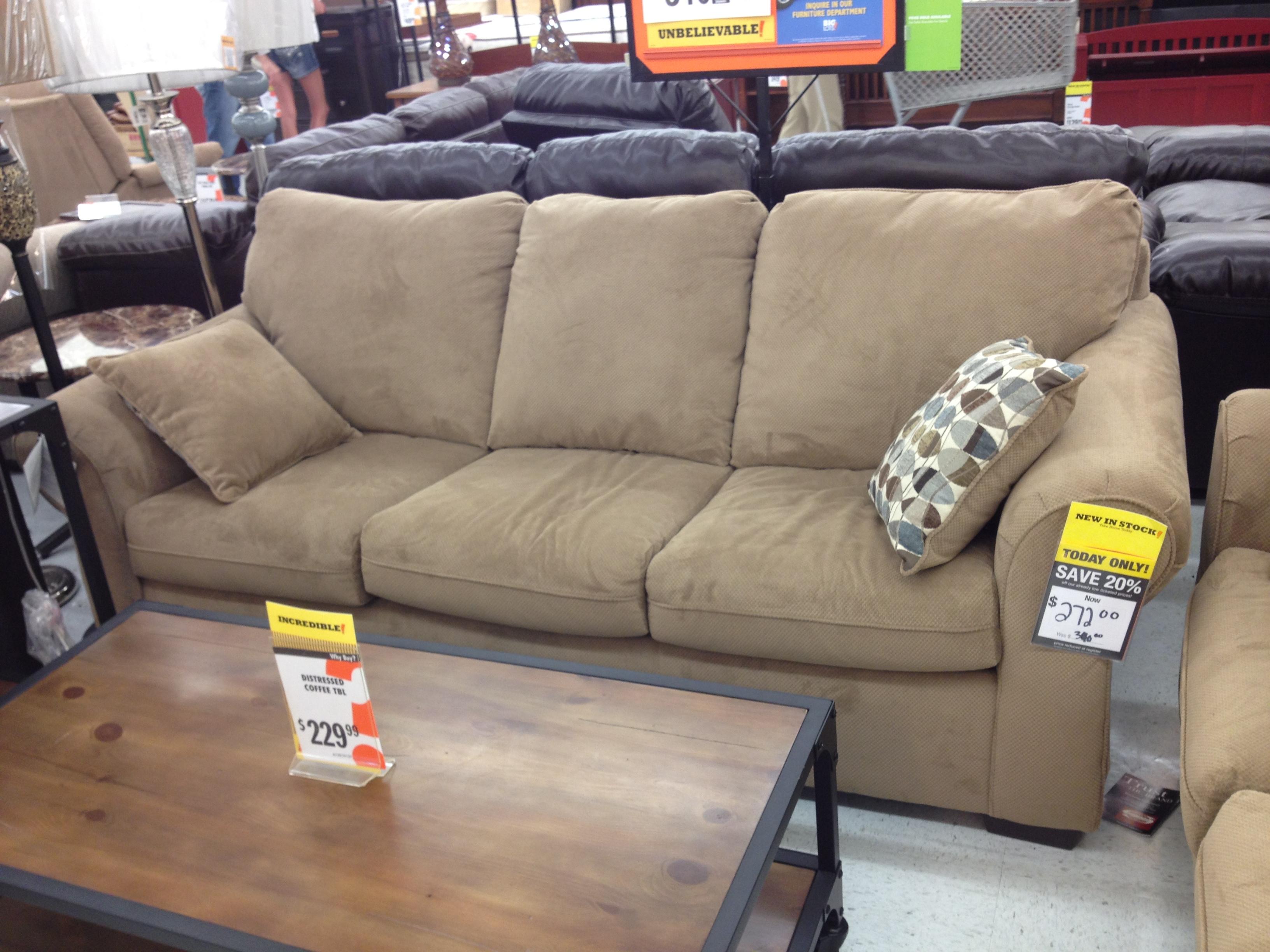 Popular Photo of Big Lots Sofas