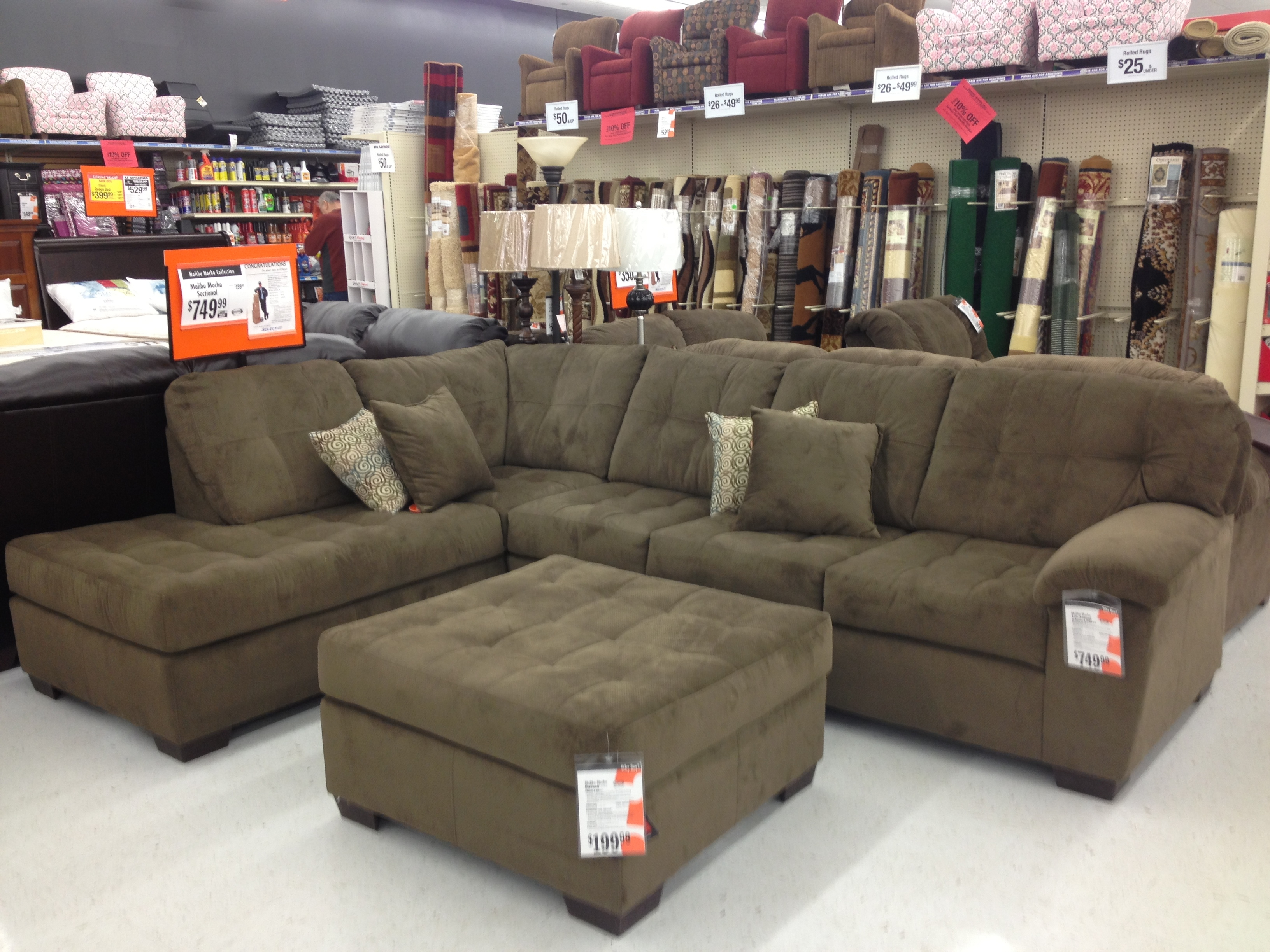 12 collection of big lots sofas. Black Bedroom Furniture Sets. Home Design Ideas