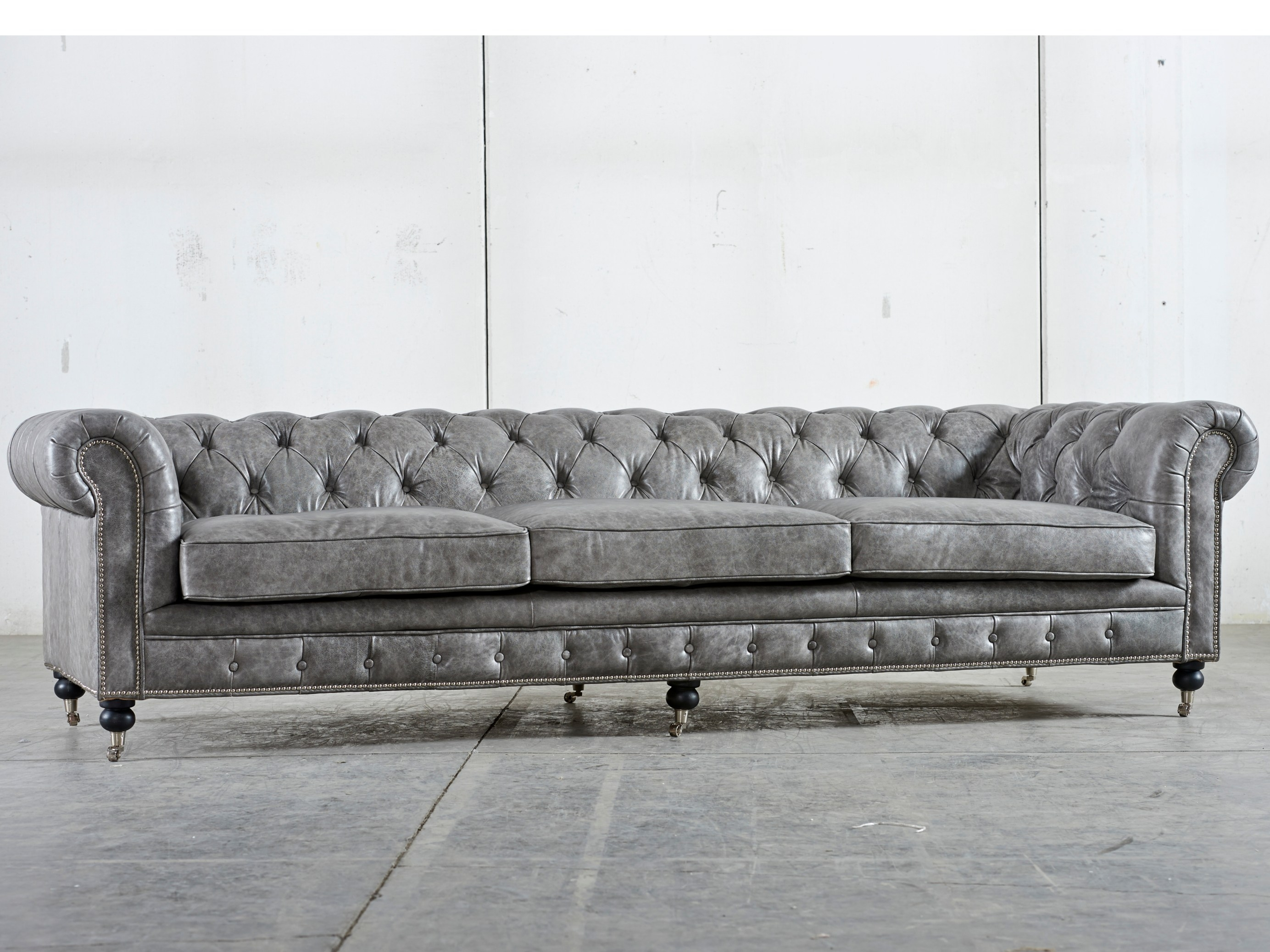 Popular Photo of Affordable Tufted Sofa