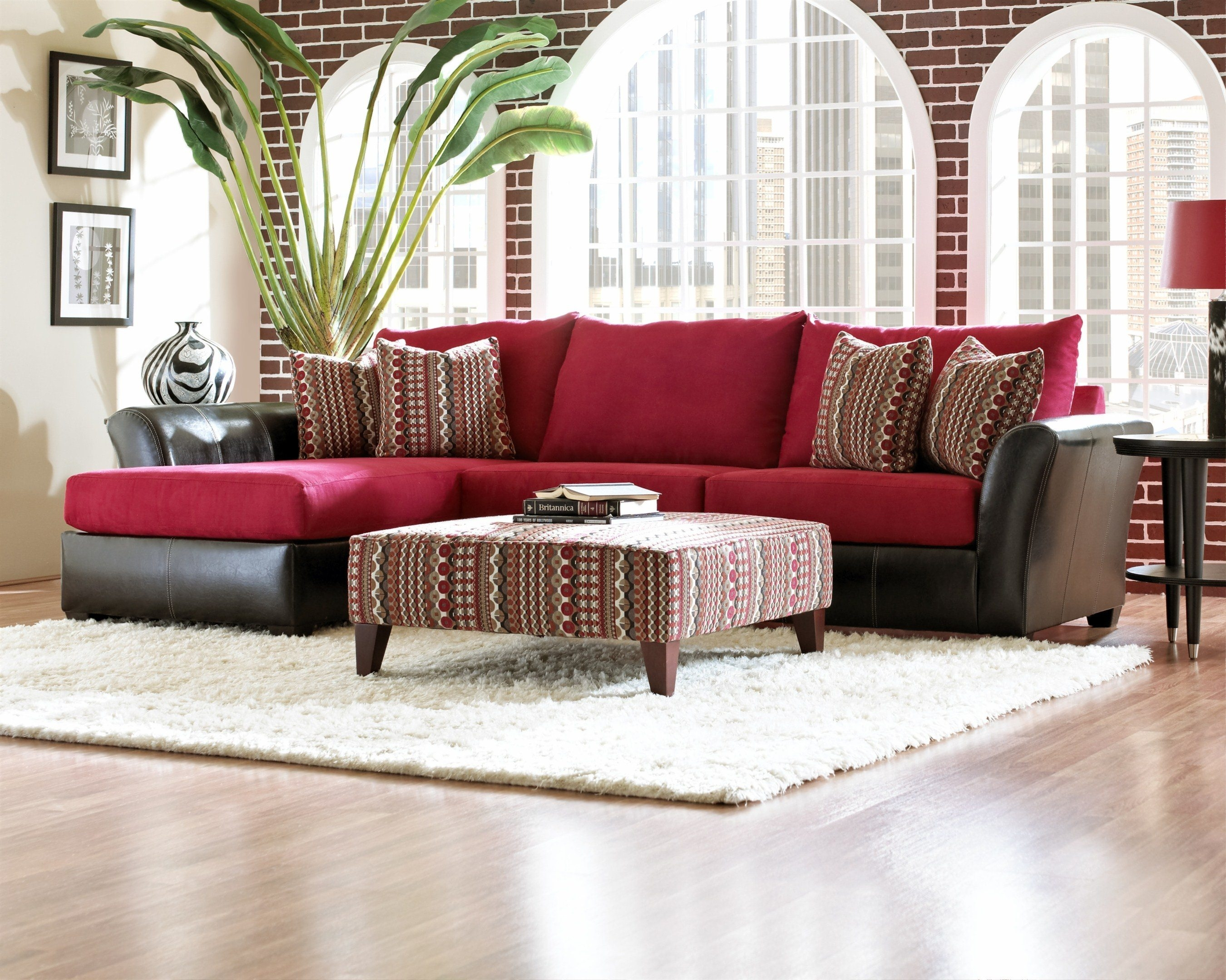 Sofas Luxury Your Living Room Sofas Design With Red Sectional For Colorful Sectional Sofas (#12 of 12)
