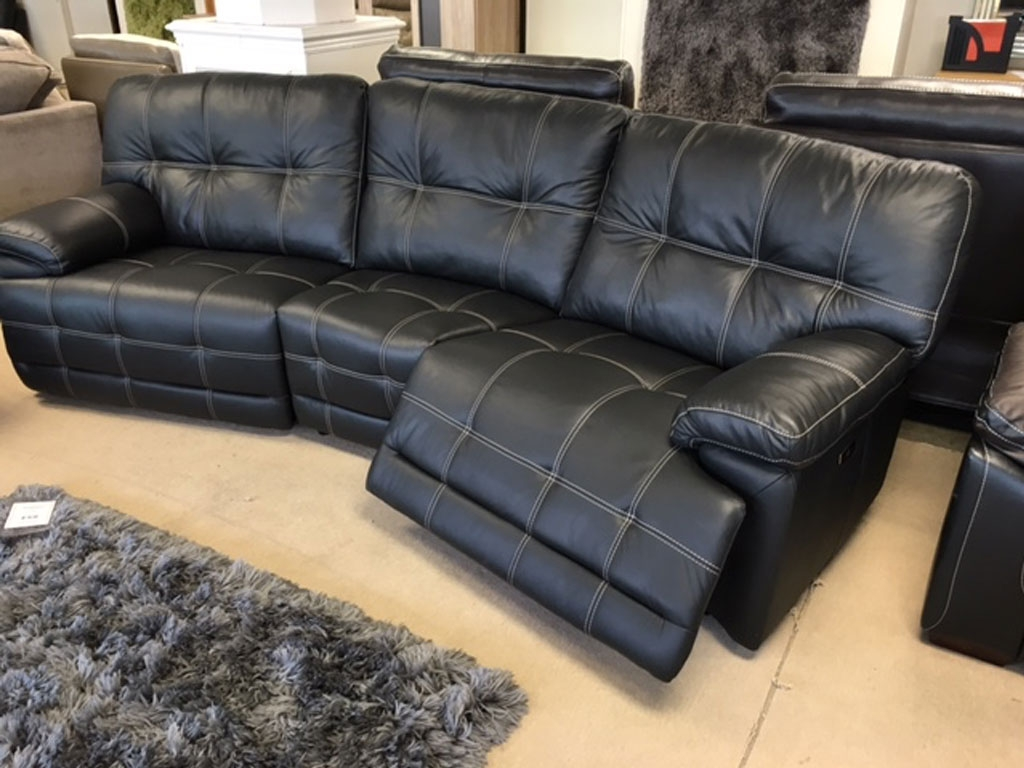Sofas Ndf Furniture With Curved Recliner Sofa (#12 of 12)