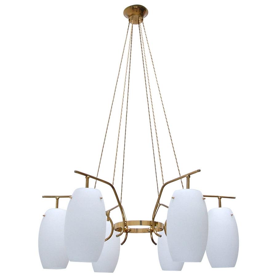 Solid Brass Italian Chandelier Vintage Chandeliers At Lumfardo Intended For Italian Chandelier Style (#11 of 12)