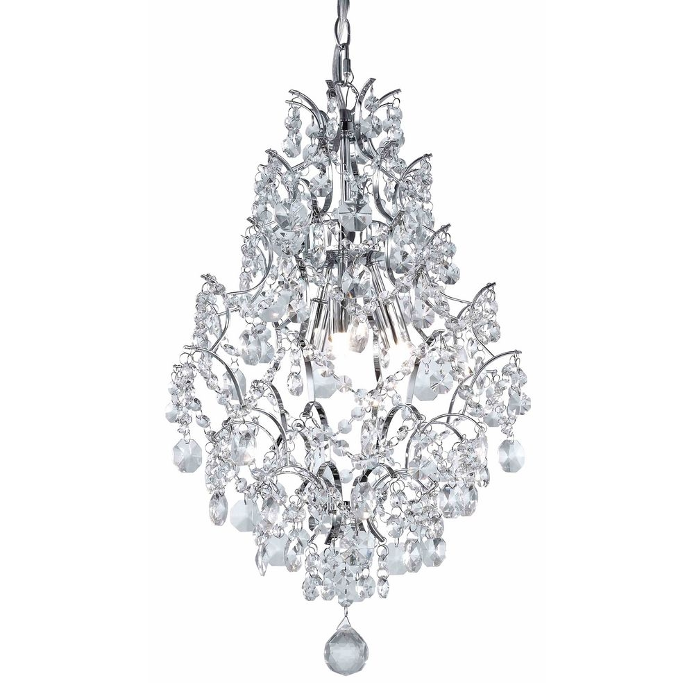 Superb Mini Crystal Chandelier Pendants 10 Crystal Mini Chandelier Throughout Small Chrome Chandelier (#11 of 12)