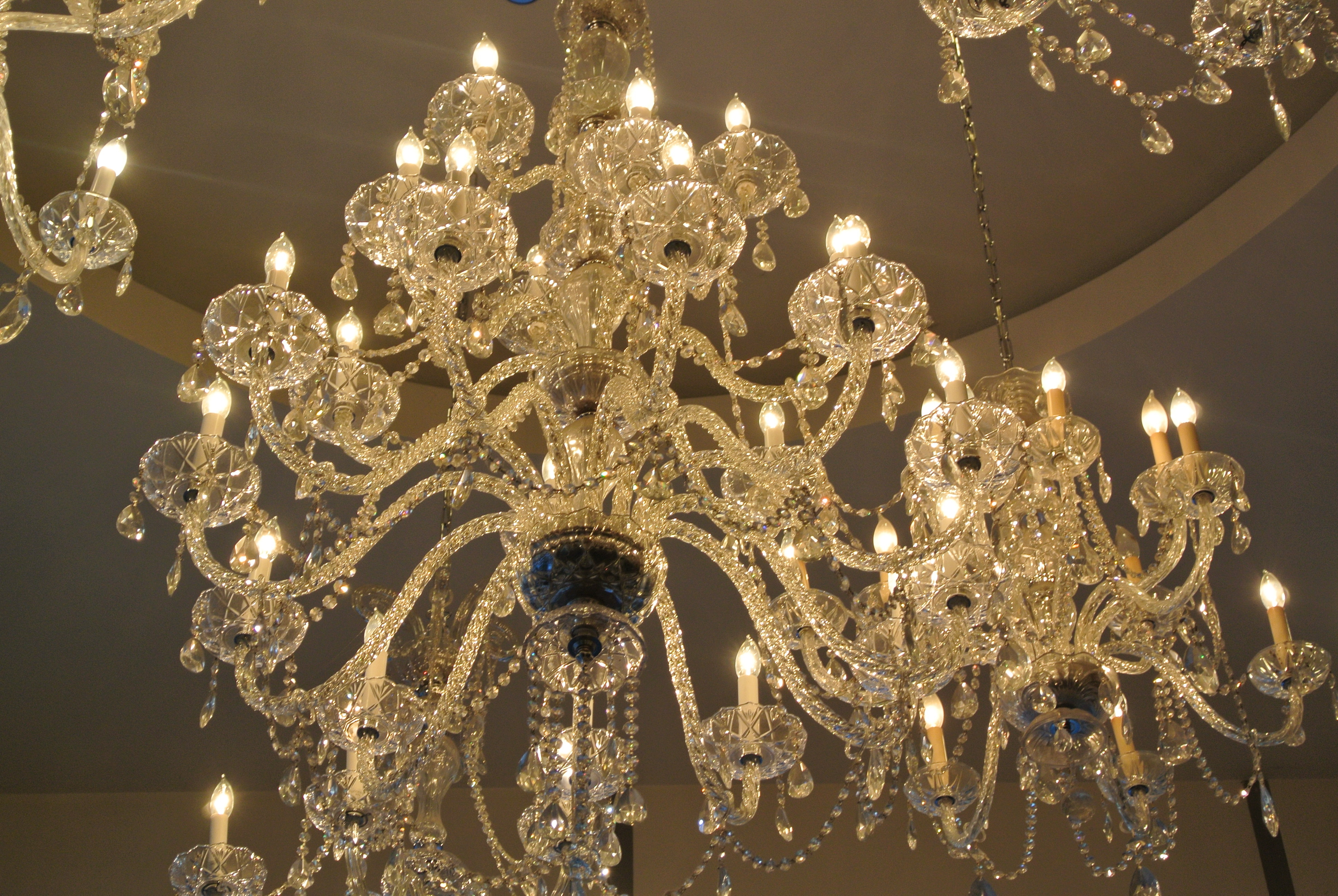 The Allure Of The Crystal Chandelier House Appeal Within Lead Crystal Chandeliers (#11 of 12)