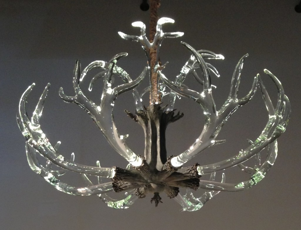 The Crystal Antler Chandelier From Lawson Glass Lighting Lamps For Modern Antler Chandelier (#9 of 12)