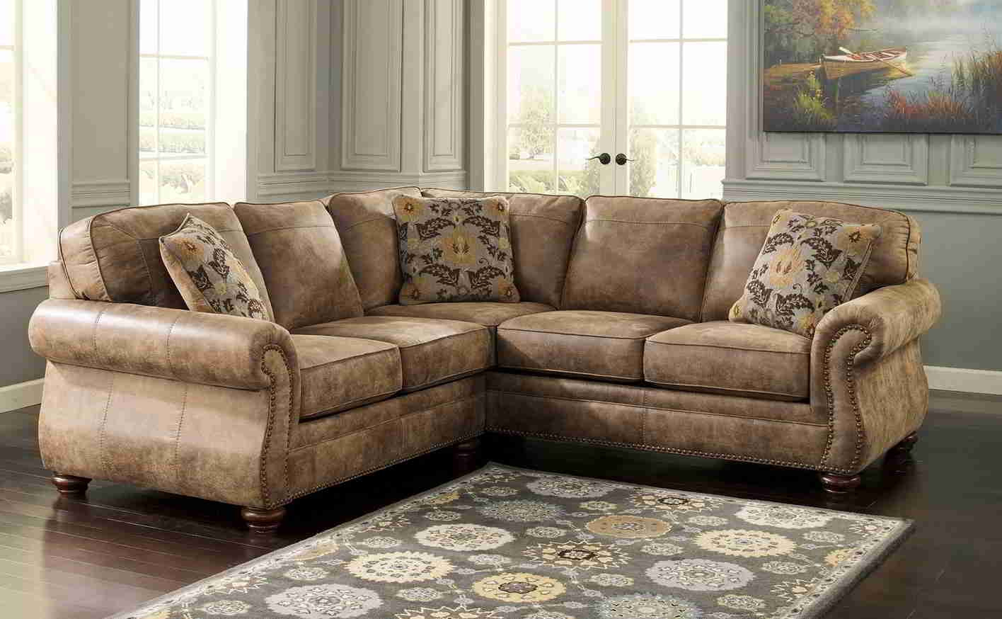 Inspiration about The Most Popular Custom Leather Sectional Sofa 87 With Additional With Diana Dark Brown Leather Sectional Sofa Set (#7 of 12)