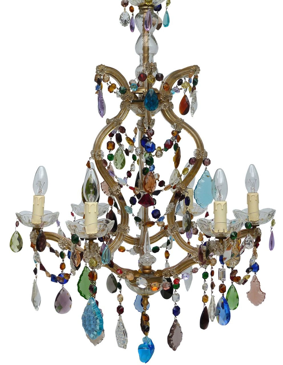 The Vintage Chandelier Companymulti Coloured Archives Page 3 Of Pertaining To Coloured Chandeliers (#11 of 12)