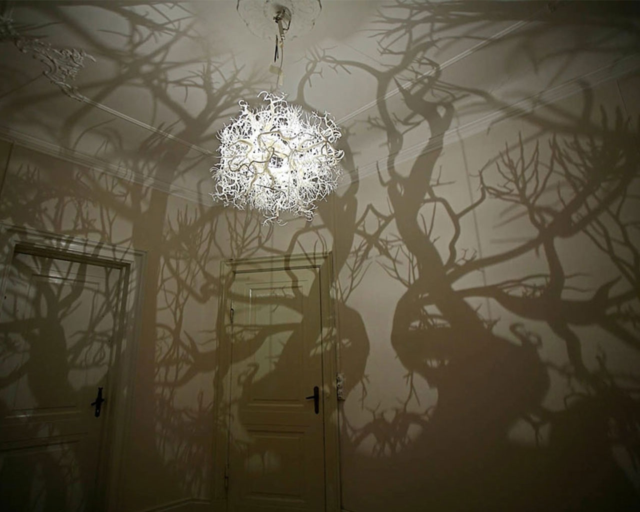 This Chandelier Creates The Atmosphere Of A Moonlit Walk In The With Regard To Unusual Chandeliers (#11 of 12)