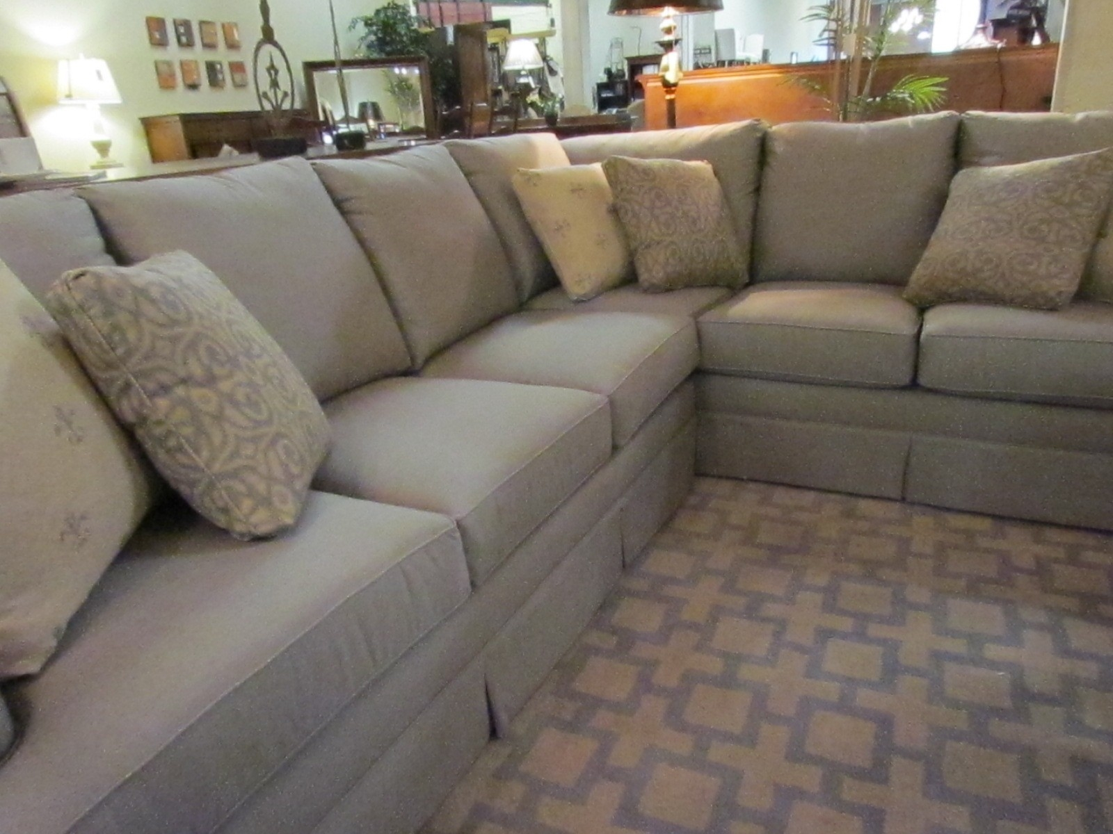 Inspiration about This Sectional Sofa Has Enough Room For The Entire Family Even Pertaining To Durable Sectional Sofa (#12 of 12)
