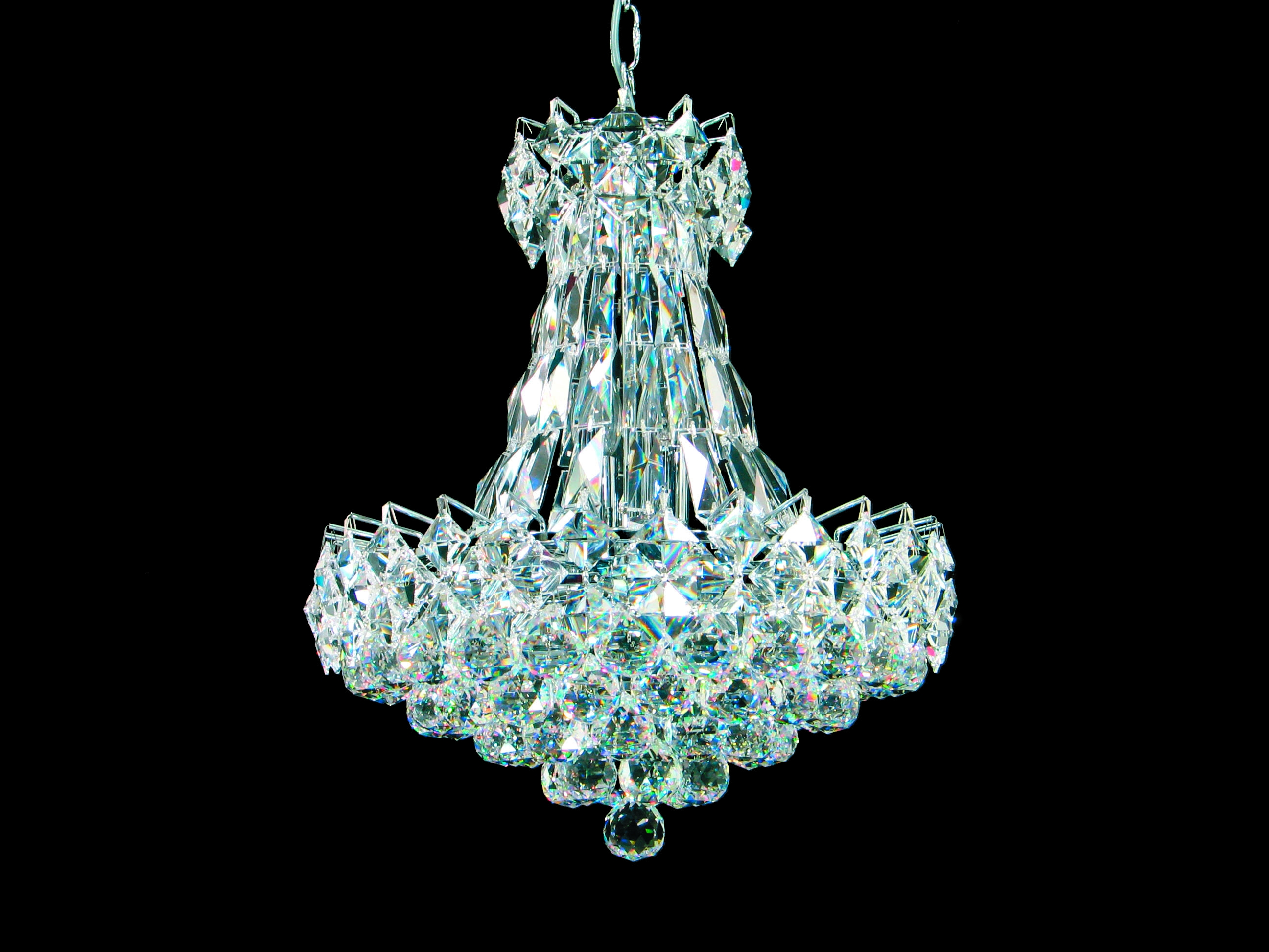 Inspiration about Unique Crystal Chandeliers Home Decor Throughout Lead Crystal Chandeliers (#1 of 12)