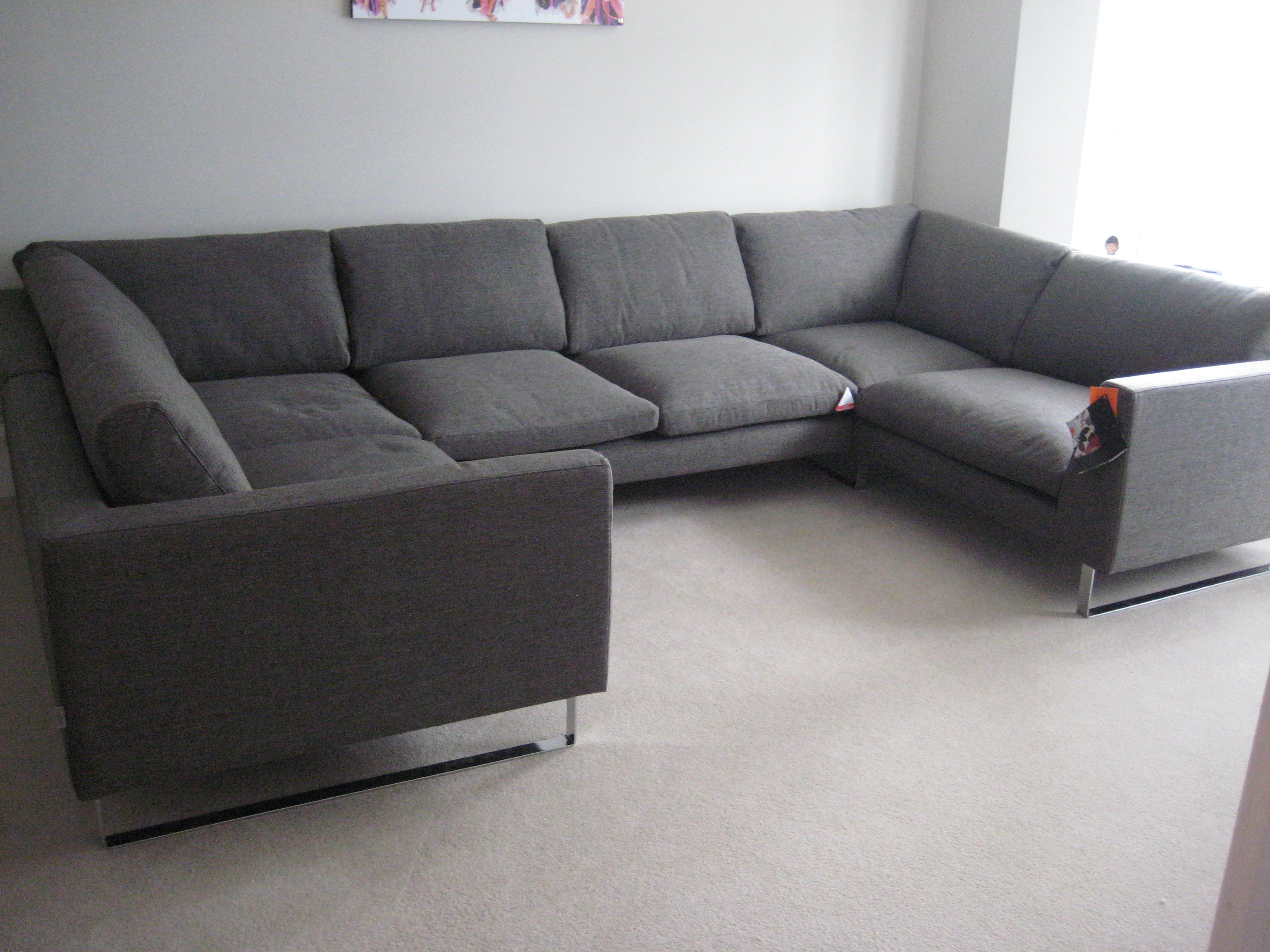 Very Large Hazel U Shaped Combination Units Customer Own Fabric For C Shaped Sofas (View 7 of 12)