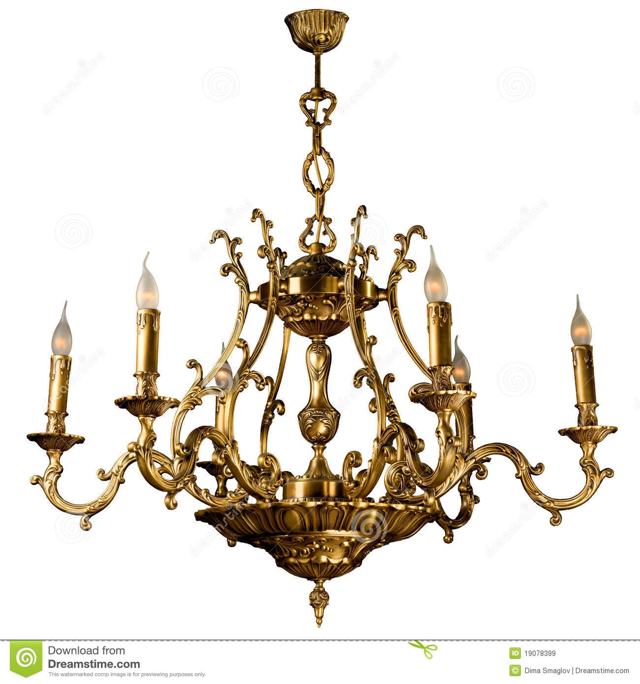 Vintage Chandelier Royalty Free Stock Images Image 19078399 Regarding Vintage Chandelier (#8 of 12)
