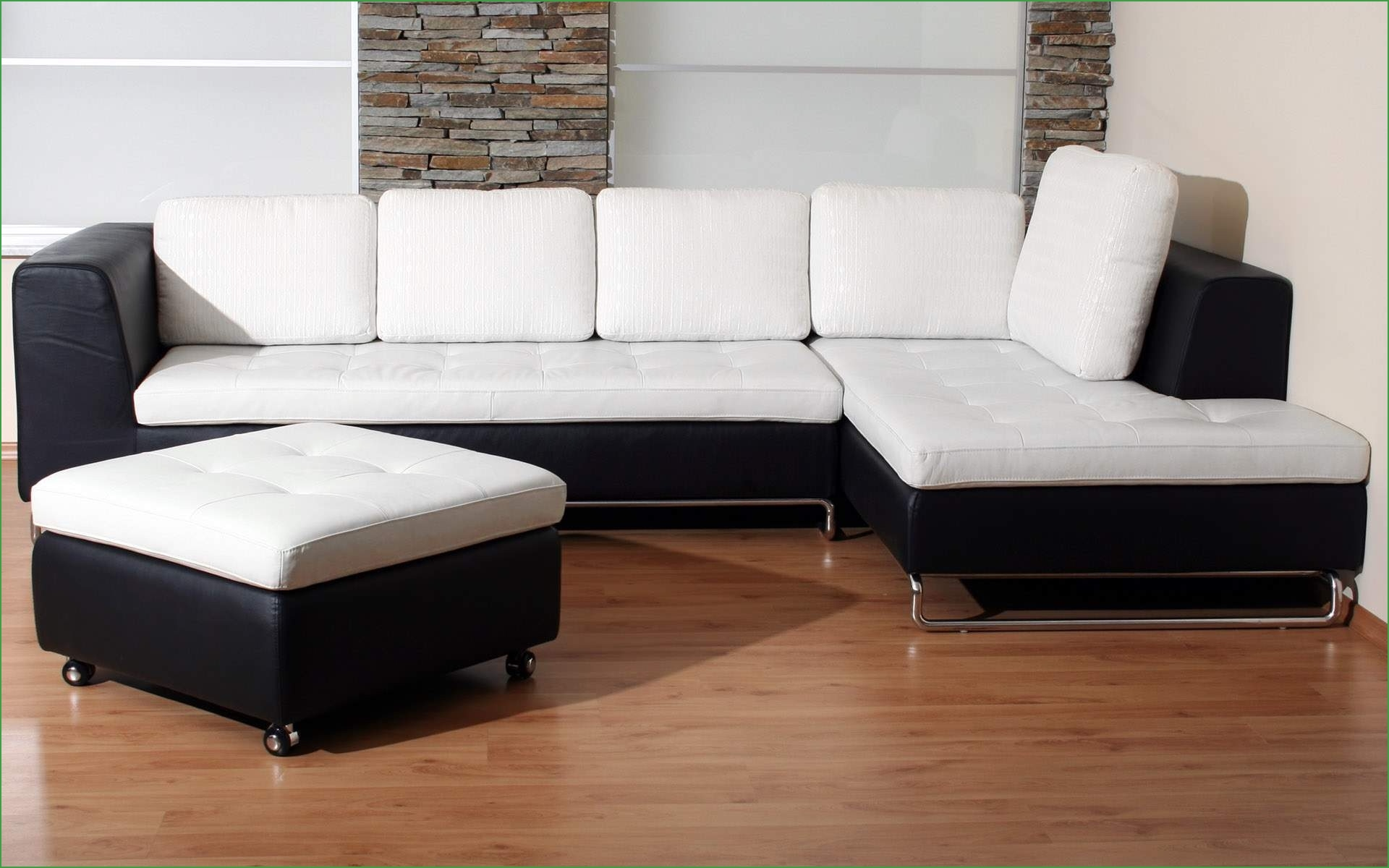 12 Ideas Of Black And White Sectional Sofa