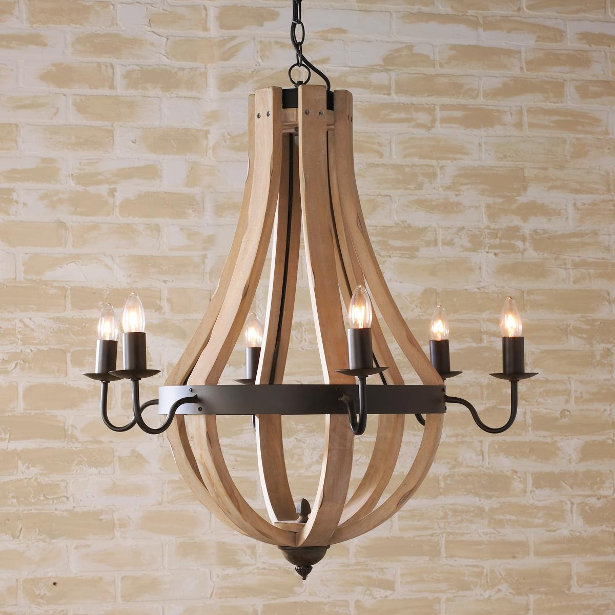 Wood Chandeliers Creative Home Decor Pinterest Within Wooden Chandeliers (#12 of 12)