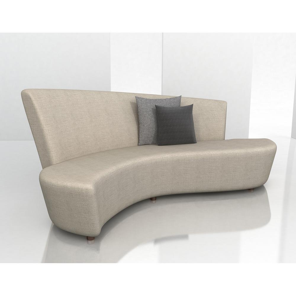 Modern Contemporary Sectional Sofa: 12 Ideas Of Contemporary Curved Sofas