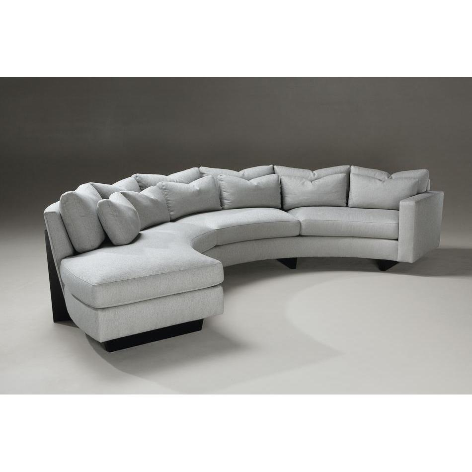 Younger Sofas Weiman Sectionals Modern Designs Throughout Contemporary Curved Sofas (#12 of 12)
