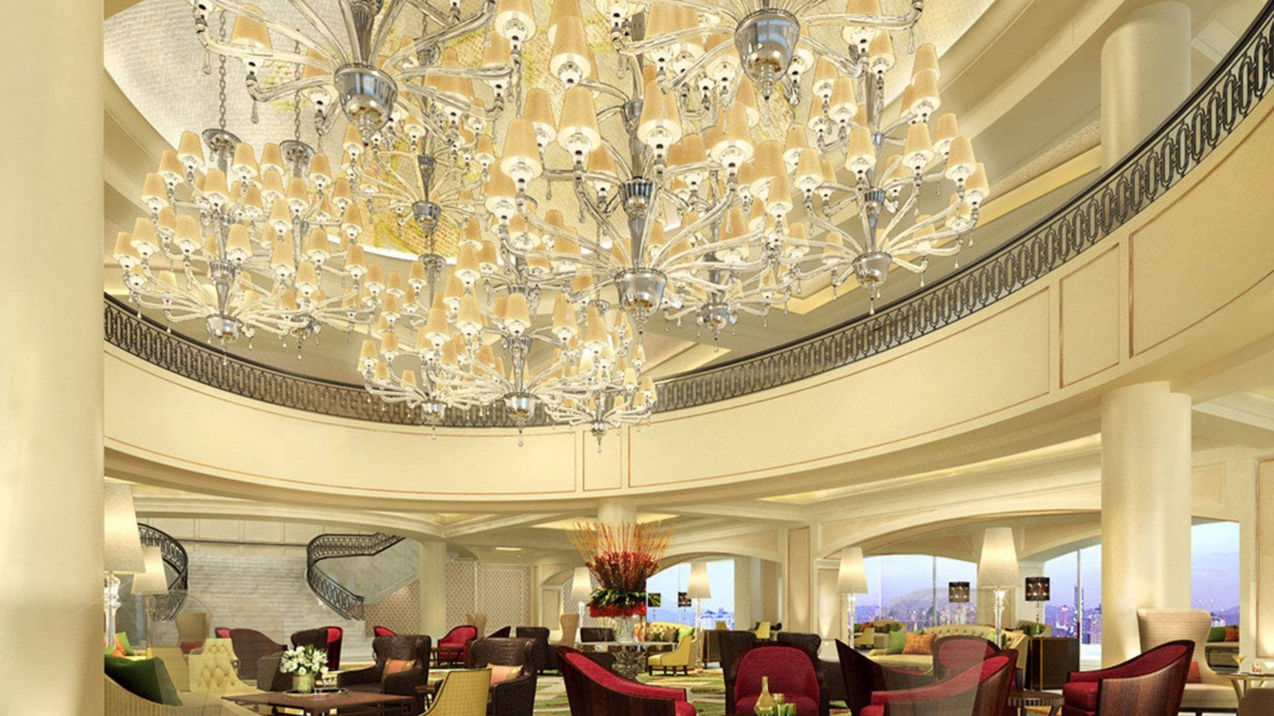 10 Beautiful Chandeliers For A Hotel Design Throughout Hotel Chandelier (View 4 of 12)
