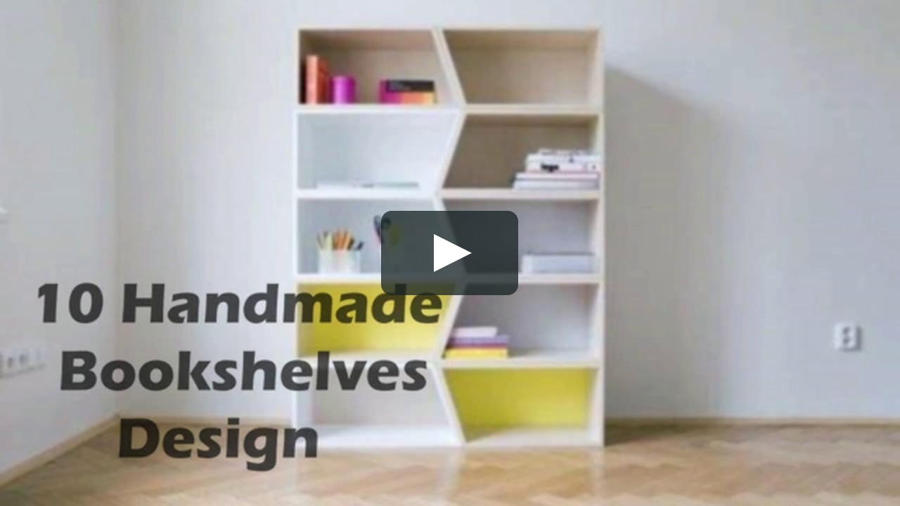 10 Handmade Bookshelves Designs For Your Dream Home Induscraft Within Handmade Bookshelves (#1 of 15)