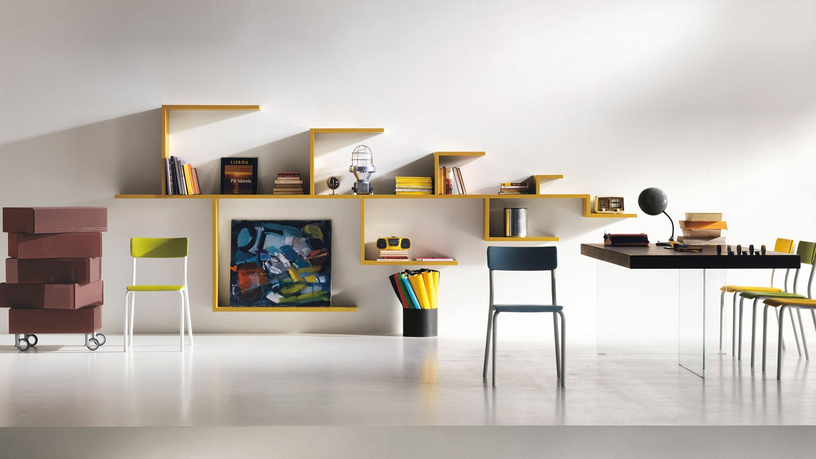 10 Modern Bookshelf Designs To Keep Your Home Organized 10 Pertaining To Modern Bookcases (#1 of 15)