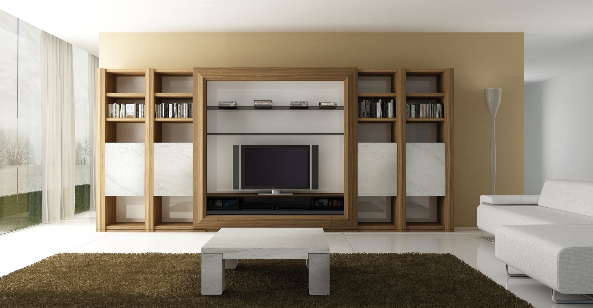 1000 Images About Tv Wall Unit On Pinterest Modern Wall Units Within Tv Storage Units (View 10 of 15)