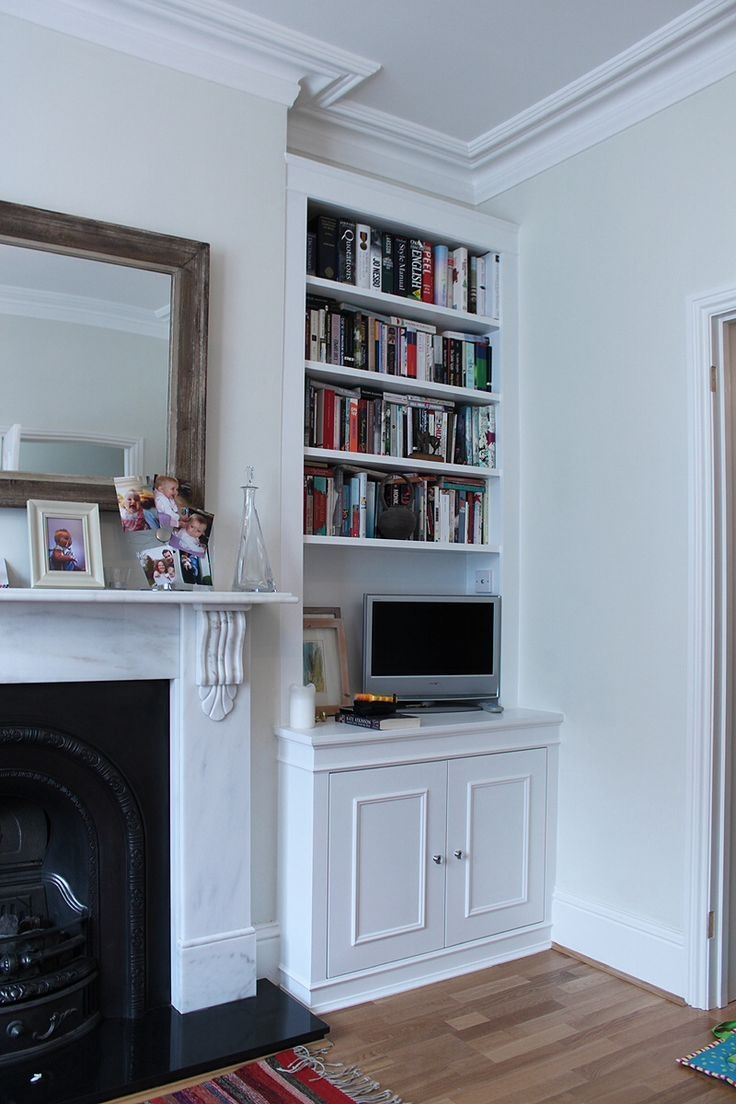 11 Best Images About Living Room On Pinterest Within Alcove Bookcase (View 11 of 15)