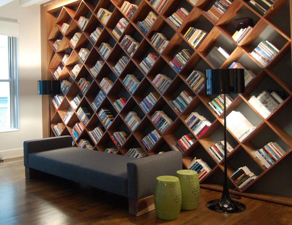 113 Best Bookshelves Collection Images On Pinterest With Regard To Whole Wall Shelving (#1 of 15)