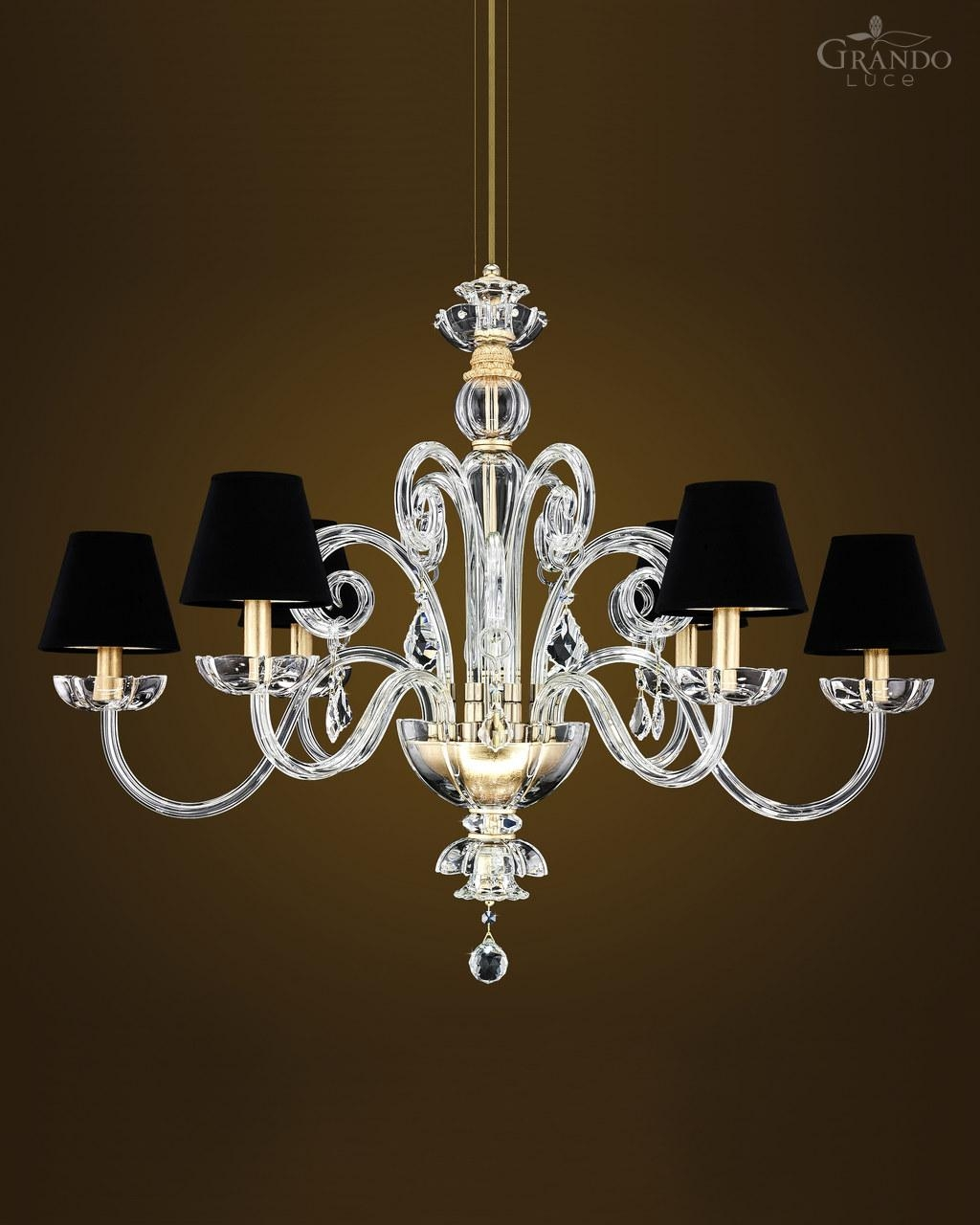 1256 Rl Gold Leaf Crystal Chandelier With Swarovski Elements For Crystal Gold Chandelier (#1 of 12)