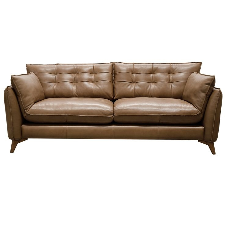 15 Best Leather Couches Images On Pinterest Pertaining To Mid Range Sofas (#3 of 15)