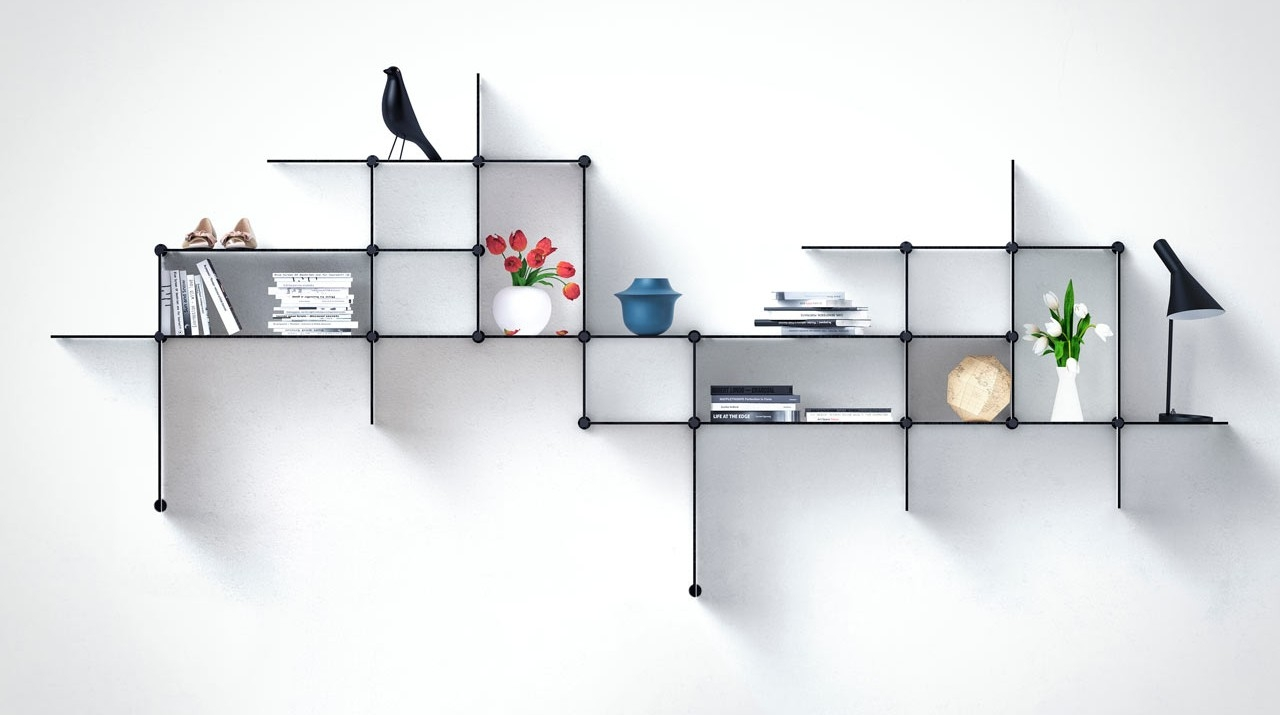 15 Breathtaking Floating Shelves That You Dont Have To Diy Within Floating Shelf (#1 of 15)