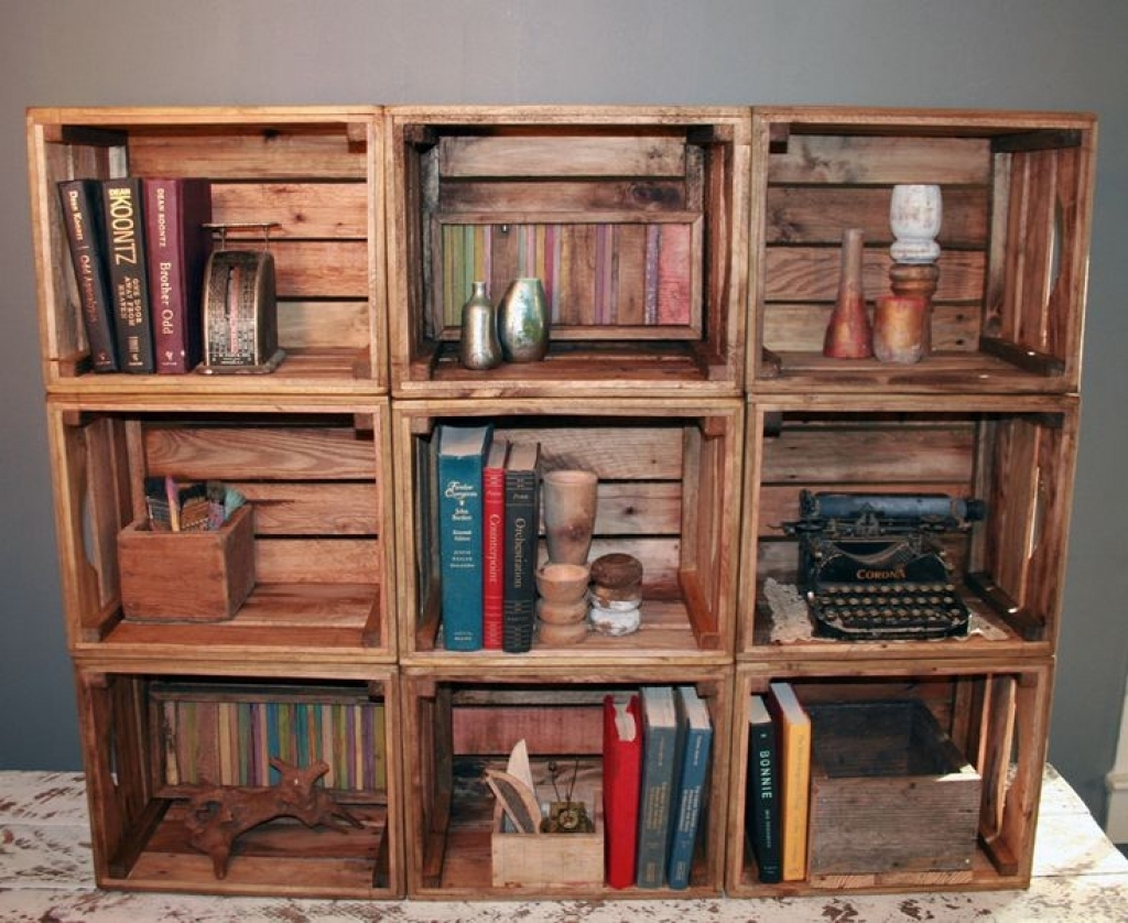 16 Cool Handmade Book Shelf Storage Ideas Handmade Bookshelves Within Handmade Bookshelves (#3 of 15)