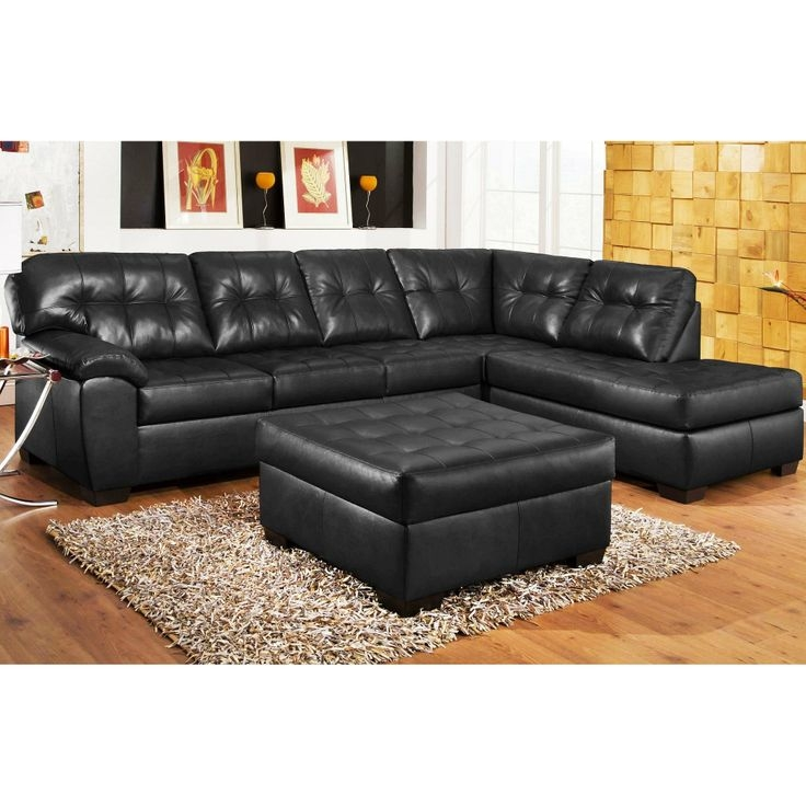 17 Best Images About Living Room Ideasfurniture On Pinterest With Regard To Black Leather Sectional Sleeper Sofas (#1 of 15)