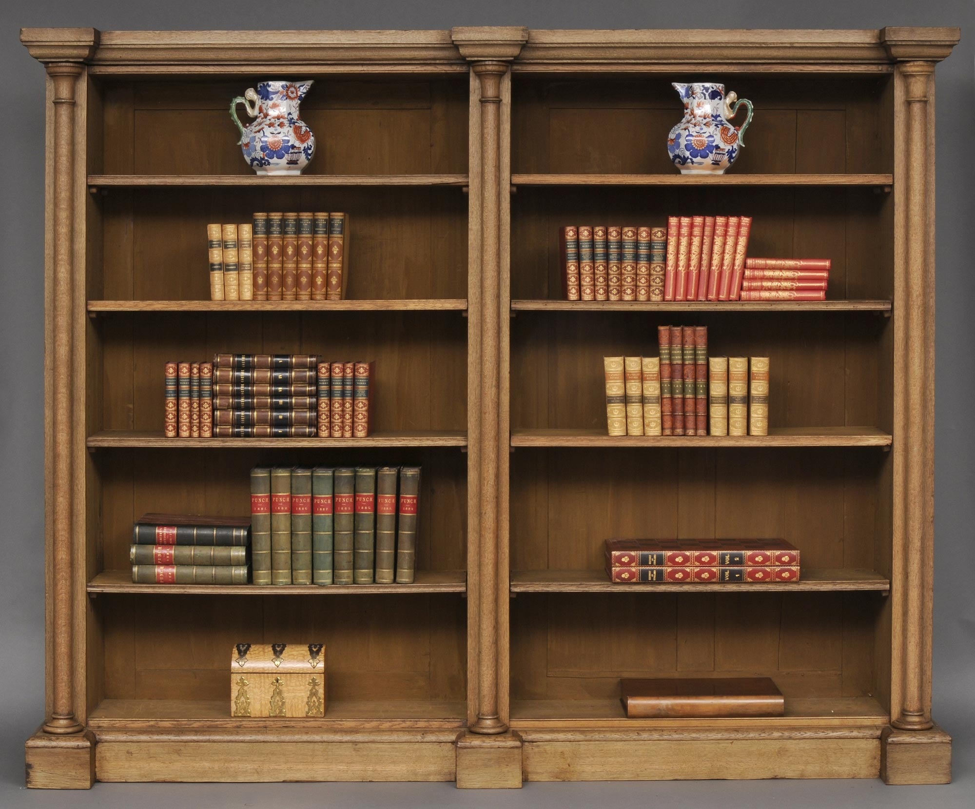 19th Century Bookcase Traditionally Great Furniture Pinterest Throughout Oak Library Bookcase (#2 of 15)