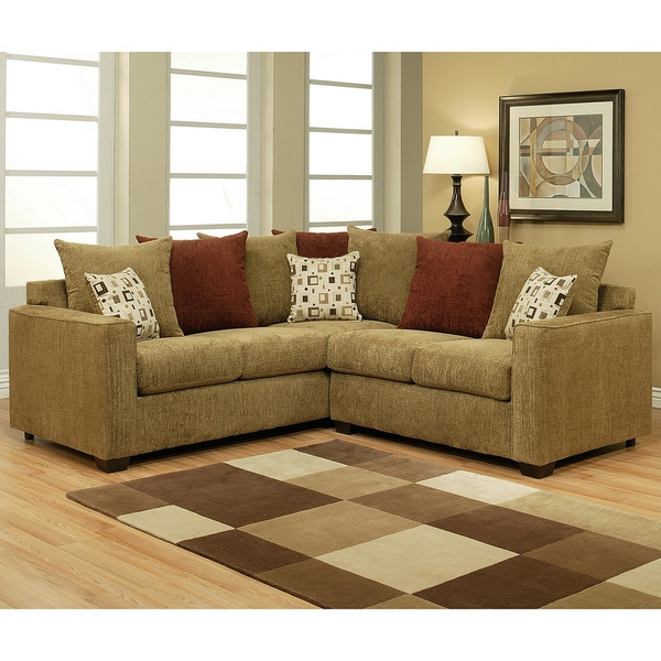 2 piece sectional sofas thesofa within small 2 piece sectional sofas 1 of 15